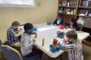 Sunday School Arts and craft